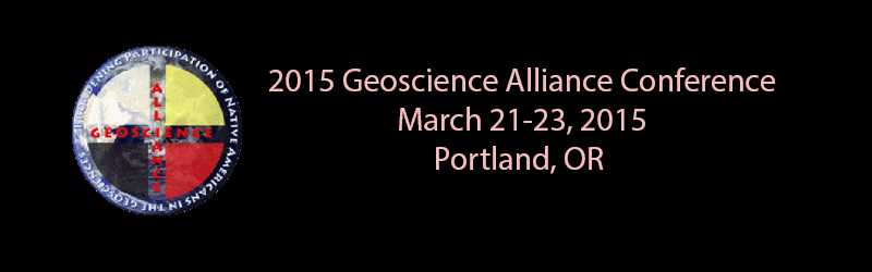 2015 Geoscience Alliance Conference