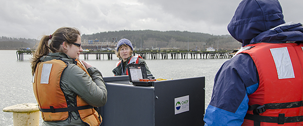Adaptive ESP to look deeper into Columbia River Estuary microbes
