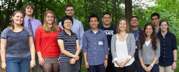 2014 Summer Undergraduate Interns