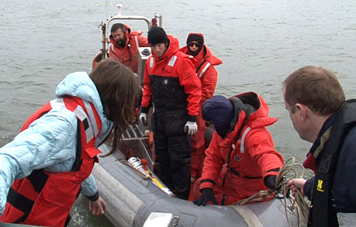AUV returned safely by Michael and team