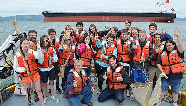 Thumbs up for Oceanography Camp