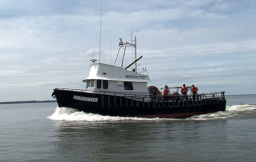 R/V Forerunner takes team to the North Channel